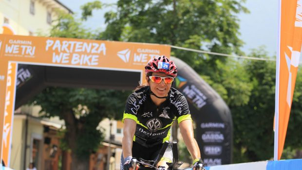Marialuisa Tavernini, assessore comunale e triatleta